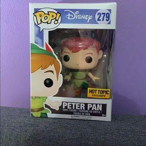 Peter Pan Hot Topic Exclusive Pop